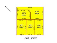 Lot 1-5, 56  Leake Street, Belmont, WA 6104