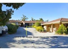 6/81 Azelia Street, Alexander Heights, WA 6064