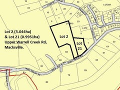 Lots 2 & 21 Upper Warrell Creek Road, Macksville, NSW 2447