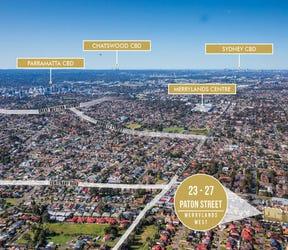 23-27 Paton  Street, Merrylands West, NSW 2160