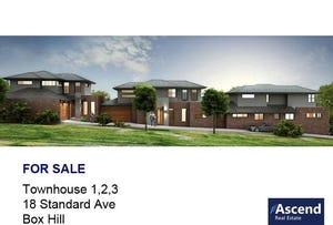 1,2,3/18 Standard Avenue, Box Hill, Vic 3128
