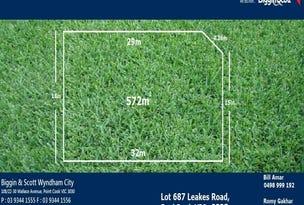 Lot 687 Leaks Road, Rockbank, Vic 3335