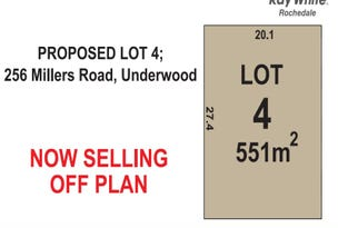 Proposed Lot 4 256 Millers Road, Underwood, Qld 4119