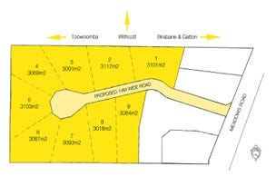 """Lots 1 to 9 """"Panoramic Meadows"""", 17 Meadows Road, Withcott, Qld 4352"""