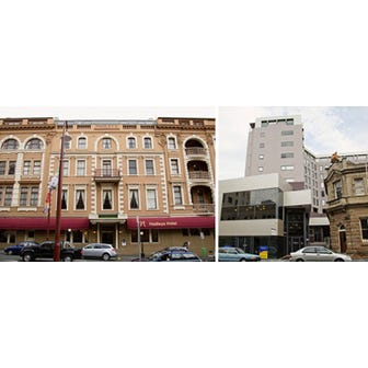 Mercure Hadleys Hobart Hotel &amp; Grand Mercure Hobart Central Apartments, 34 Murray Street, Hobart, Tas 7000