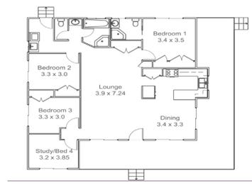 Annerley 169 - floorplan