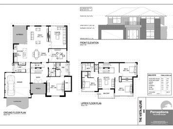 The Vista Azure - floorplan