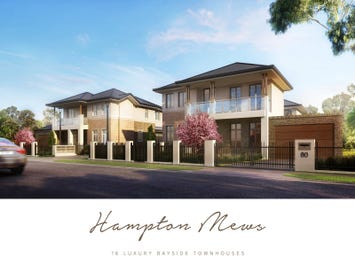 76-78 Fewster Road, Hampton, Vic 3188