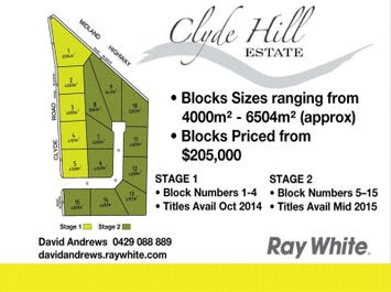 Lot 1 -15 Clyde Hill Road, Bannockburn, Vic 3331