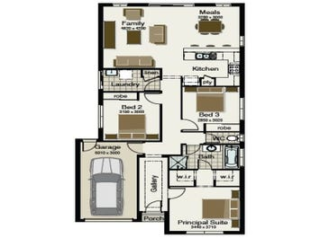 Villa 145 - floorplan