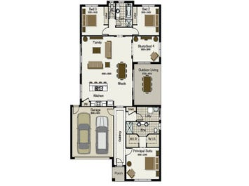 Seabreeze 235 - floorplan