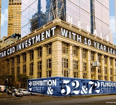 2 Exhibition Street, 52 & 72 Flinders Street, Melbourne, Vic 3000