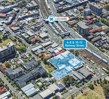 6-8 & 10-12 Railway Street, Lidcombe, NSW 2141