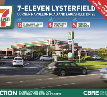 7-Eleven Lysterfield, 510 Napoleon Road, Lysterfield, Vic 3156