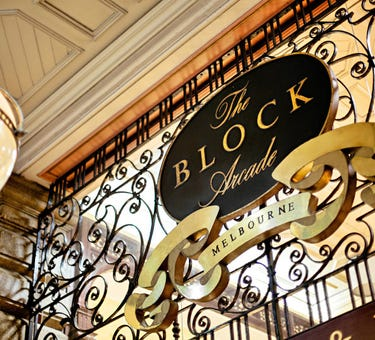 The Block Arcade, 280 - 292 Collins Street, Melbourne, Vic 3000