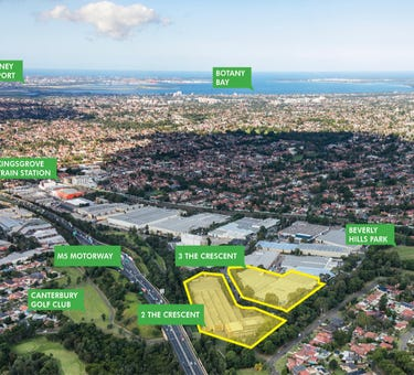 2 & 3 The Crescent, Kingsgrove, NSW 2208