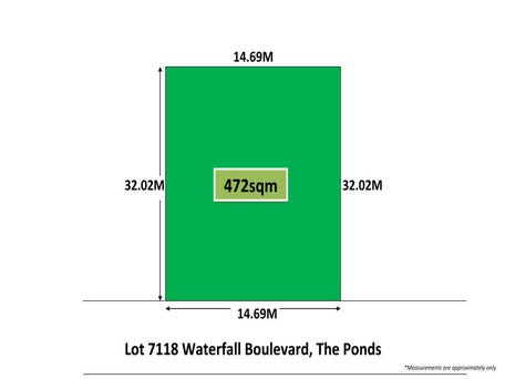 Lot 7118, Waterfall Boulevard, The Ponds, NSW 2769