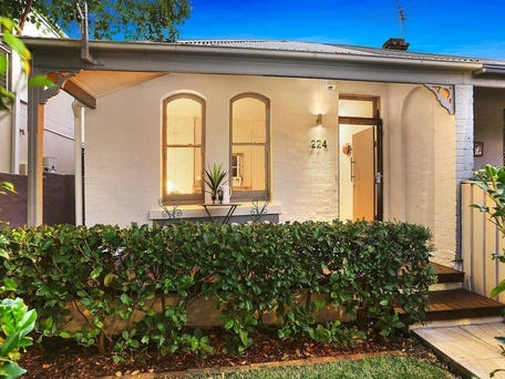 Sold price for 224 west street crows nest nsw 2065 for Crows nest house plans