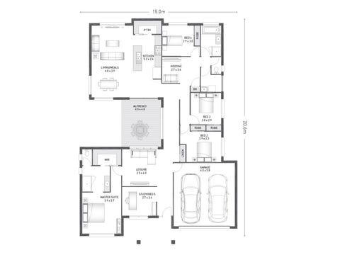 Osborne 28 - floorplan