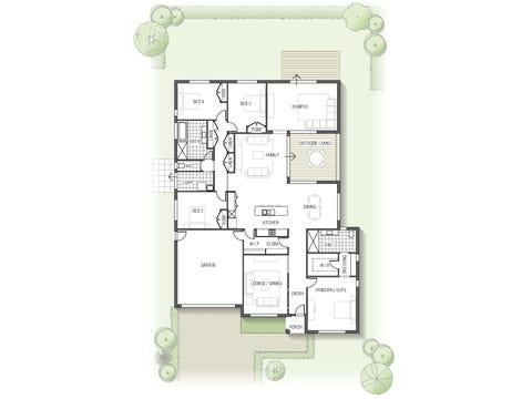 Casuarina 1934 N01 - floorplan