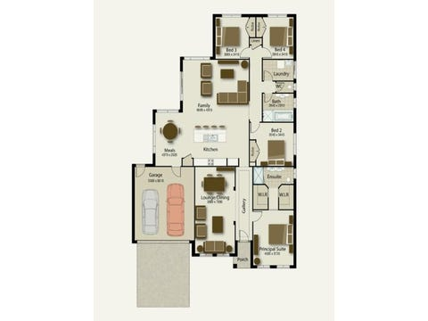 The Meridian 245 - floorplan