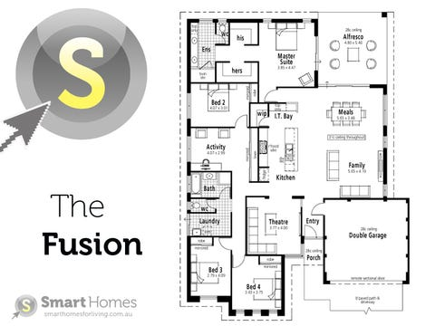 The Fusion - floorplan