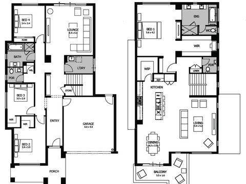 Fairhaven 39 - floorplan