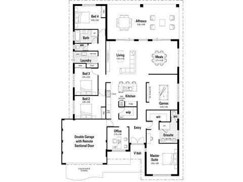 The New Dimension - floorplan