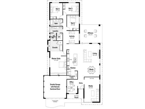 The Dynasty - floorplan
