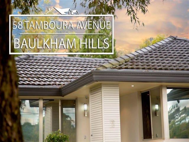 58 Tamboura Avenue, Baulkham Hills, NSW 2153