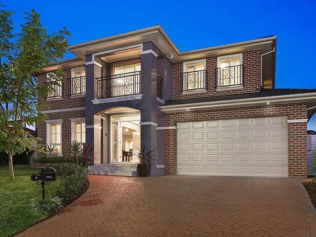 9 Danehill Court, Castle Hill, NSW 2154
