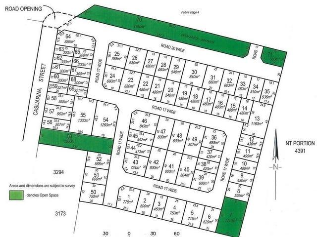 Lot 3405 (Block 32) Casuarina Park, Katherine, NT 0850
