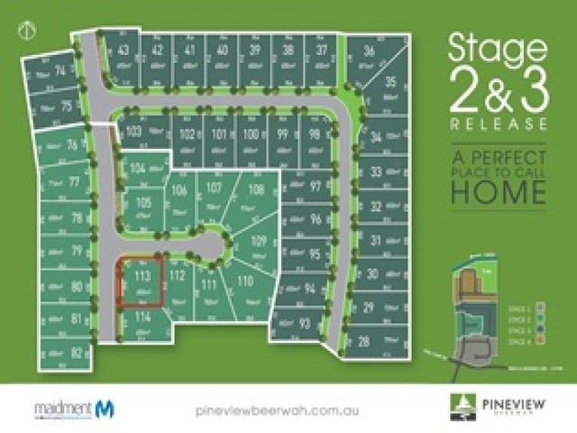 Lot 113 Speargrass Court, Beerwah, Qld 4519