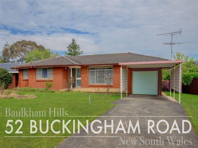 52 Buckingham Road, Baulkham Hills, NSW 2153