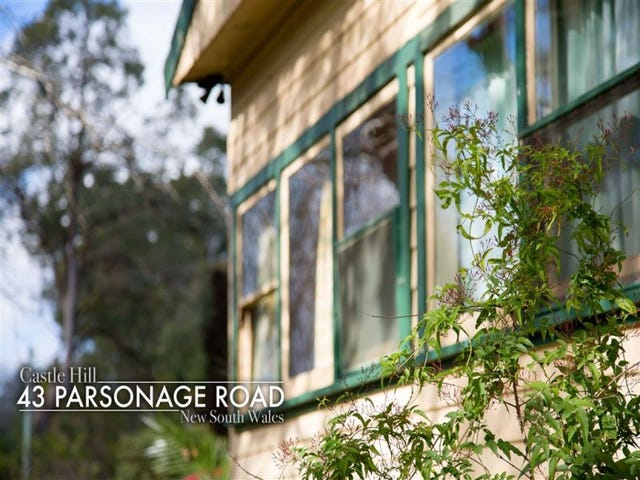43 Parsonage Road, Castle Hill, NSW 2154