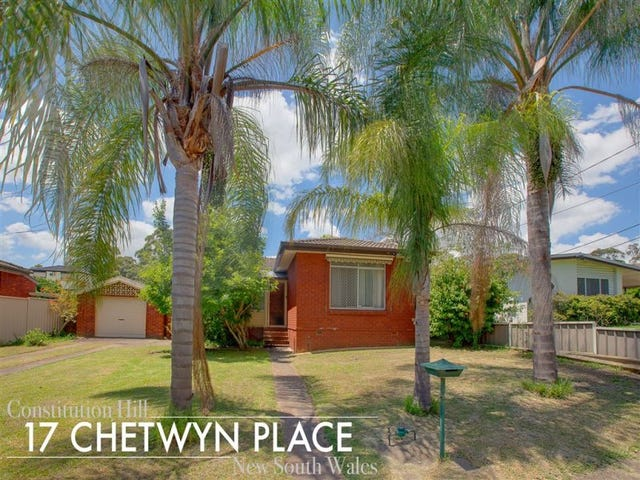 17 Chetwyn Place, Constitution Hill, NSW 2145