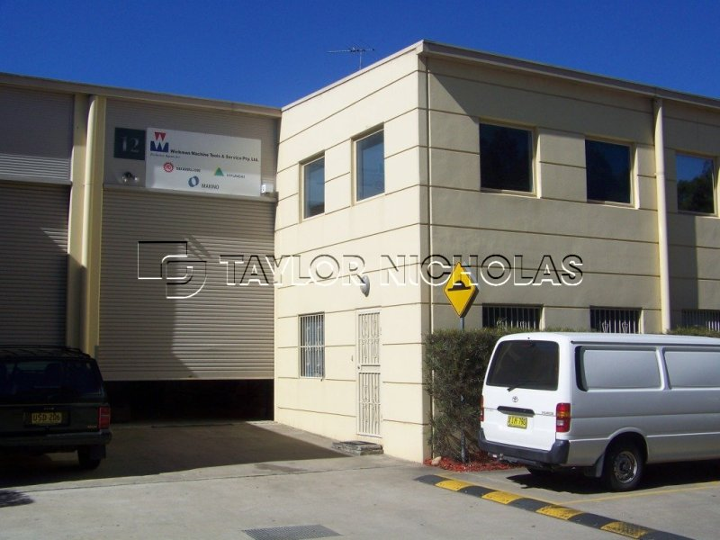 HOMEBUSH BUSINESS PARK 12 378 Parramatta Road Homebush