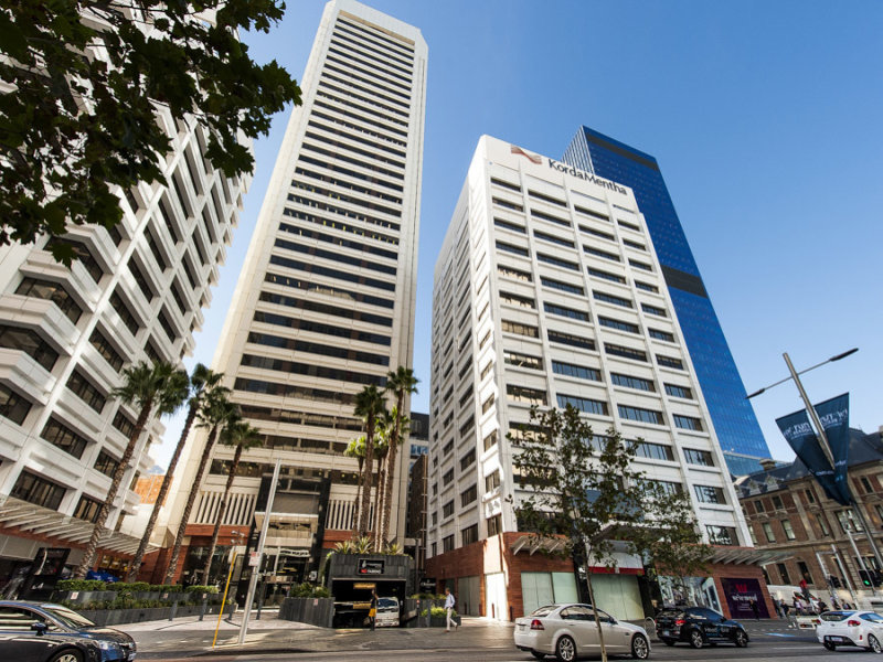 St martins centre 40 44 50 st georges terrace perth for 44 the terrace