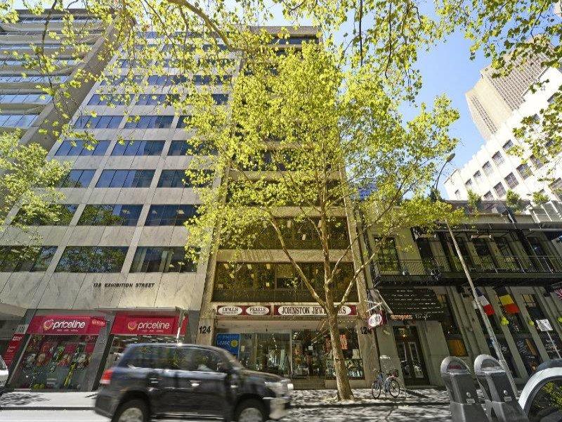 D Exhibition Melbourne : Exhibition street melbourne vic leased
