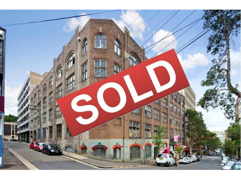 119 Kippax Street Surry Hills Nsw 2010 Sold Offices
