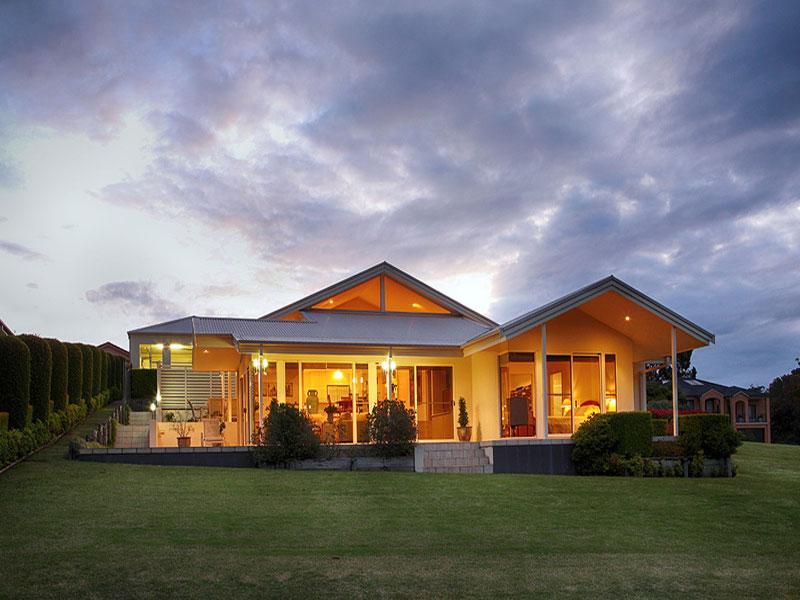 悉尼独栋别墅tallwoodsvil流水别墅1比100尺寸图图片