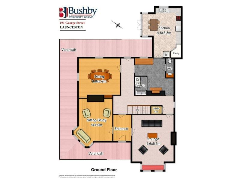"Hargate Hargate 这是一处位于""塔斯马尼亚州朗塞斯顿,191 George Street""的住宅,它拥有4间卧室,3间浴室,2间车库,占地面积约为900.00平方米,建筑面积约为285.00平方米。 此房源拥有地板、洗碗机等室内设施,以及阳台、中庭等室外设施。"