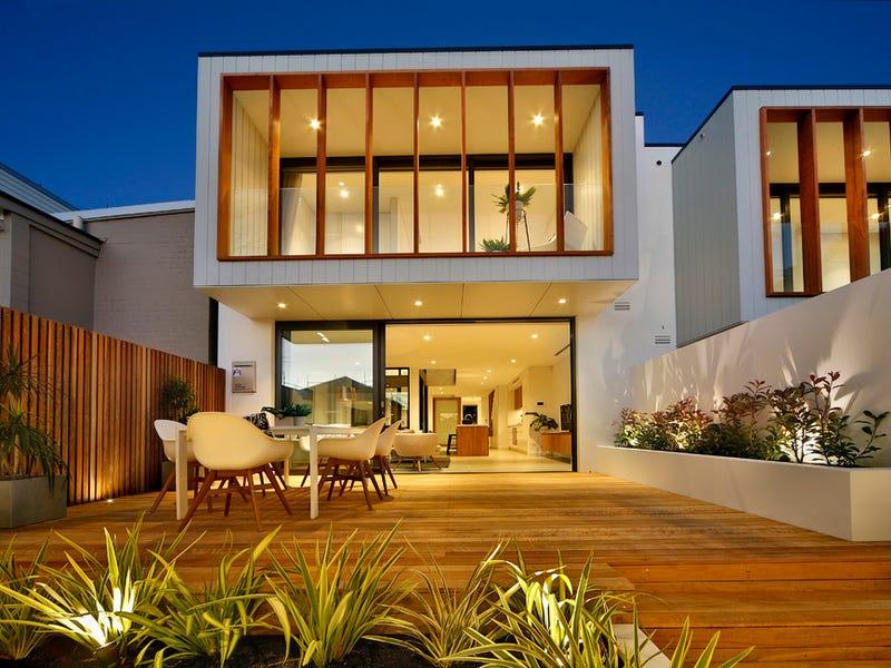 "Dramatic new designer masterpiece 令人惊叹的时尚住宅 这是一处位于""NSW 2040, Lilyfield""的独栋别墅,它拥有4间卧室,3间浴室,1间车库,占地面积约为185.00平方?#20303;?此房源拥有书房、内置衣柜、警报系统、对讲系统等室内设施。"