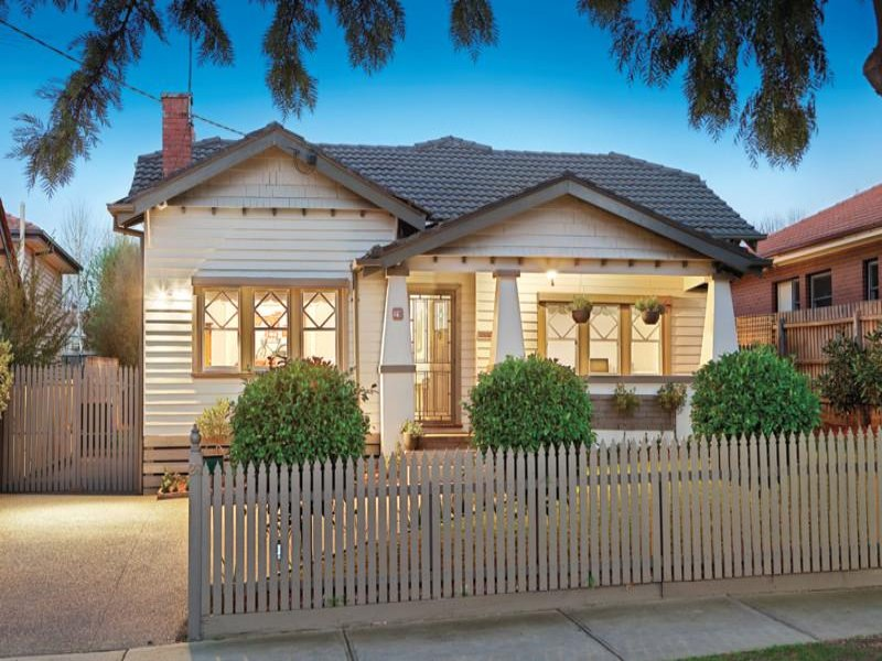 Weatherboard Californian Bungalow House Exterior With