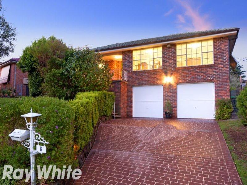 6 Grevillea Grove, Baulkham Hills, NSW 2153