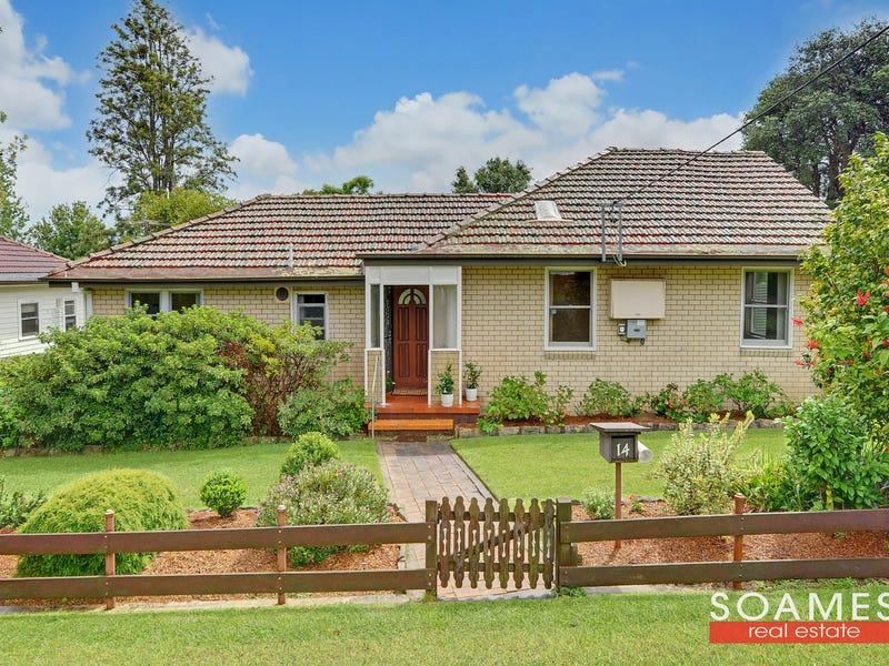 悉尼独栋别墅Mount Colah区 14 Willarong Road