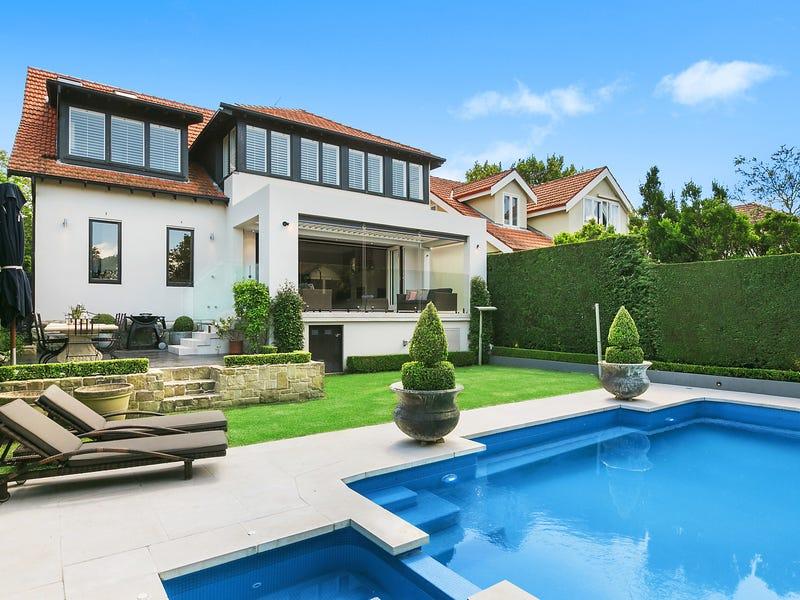 "Exceptional family home fuses character with contemporary 独特家庭住宅,现代?#21248;?这是一处位于""新南威尔士州 2088, 莫斯曼区, 64 Spencer Road""的独栋别墅,它拥有5间卧室,3间浴室,2间车库。"