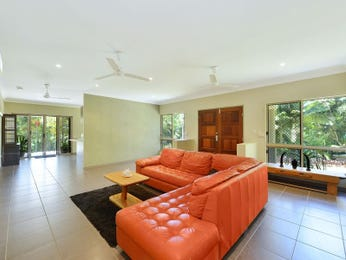 Orange living room idea from a real Australian home - Living Area photo 7788361