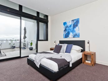 Blue bedroom design idea from a real Australian home - Bedroom photo 15615585