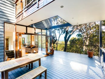 Outdoor living design with deck from a real Australian home - Outdoor Living photo 8359185